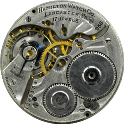 Hamilton Grade 956 Pocket Watch Movement