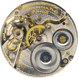 Hamilton Grade 975 Pocket Watch Movement