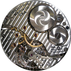 Hamilton Grade 992B Pocket Watch Movement