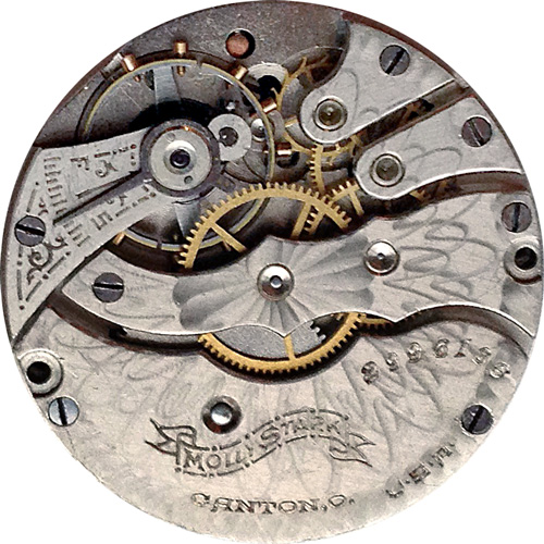 Hampden Pocket Watch Grade Molly Stark #2823382