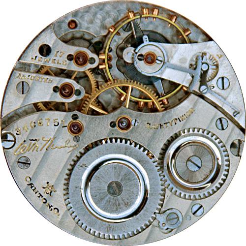 Hampden Pocket Watch Grade Wm. McKinley #3315453