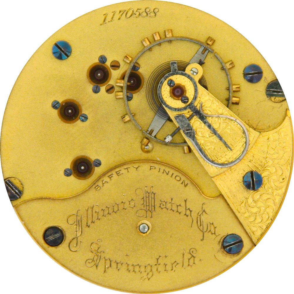 Illinois Grade 60 Pocket Watch