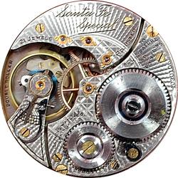 Illinois Pocket Watch Grade 806 #3500339
