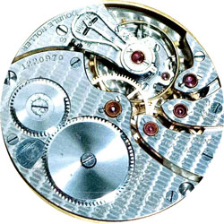 South Bend Grade 227 Pocket Watch Movement
