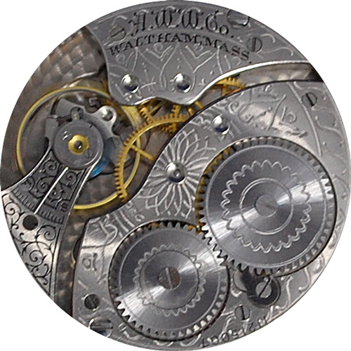 Waltham Pocket Watch Grade No. 210 #24026658