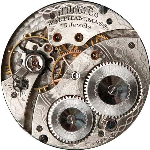Waltham Pocket Watch Grade No. 220 #21074319