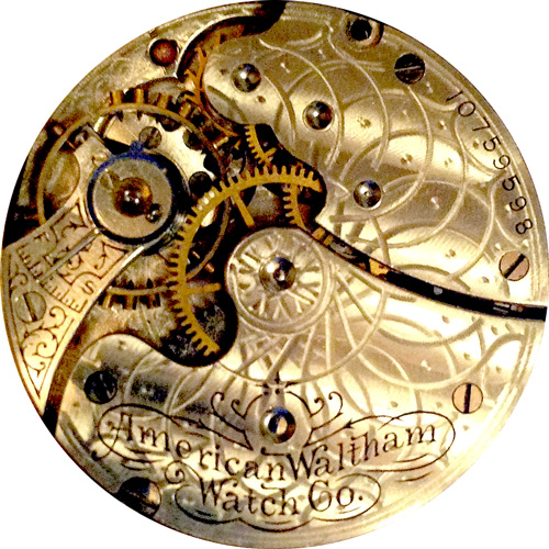 Waltham Pocket Watch Grade Seaside #11939425