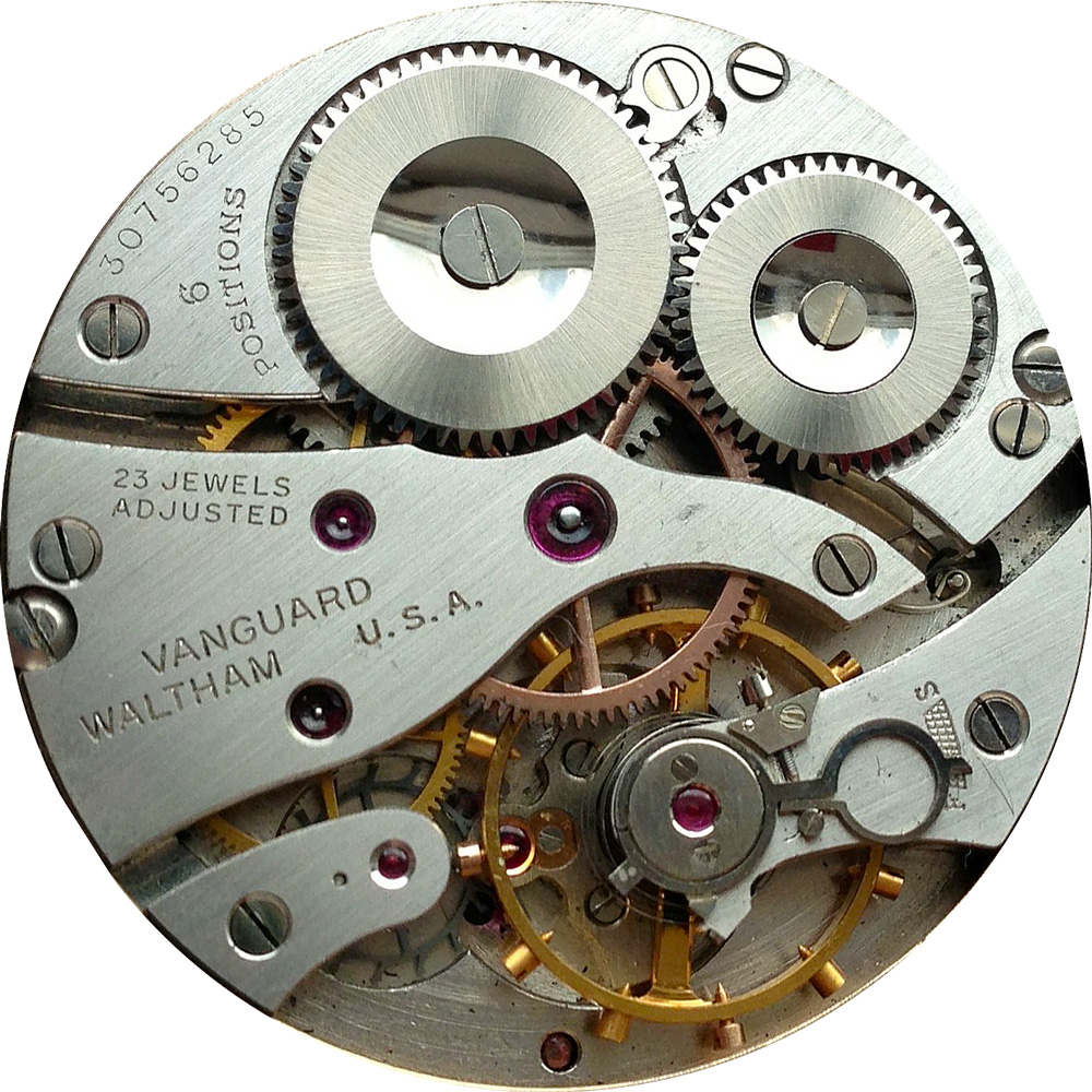Waltham Pocket Watch Grade Vanguard #18108344
