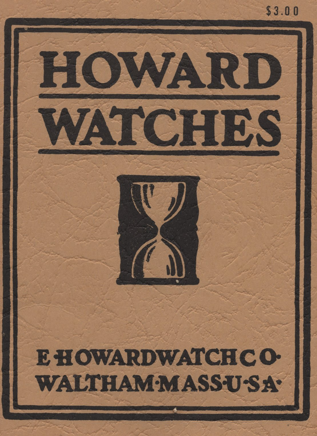 Howard Watches Catalog (1909) Cover Image