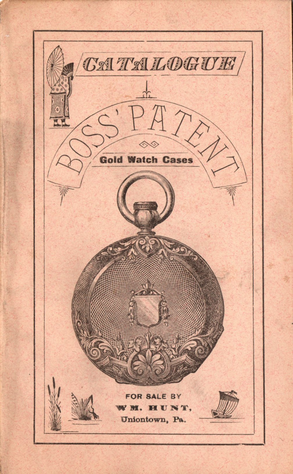 Catalogue Boss' Patent Gold Watch Cases - No. 5 (c.1880) Cover Image