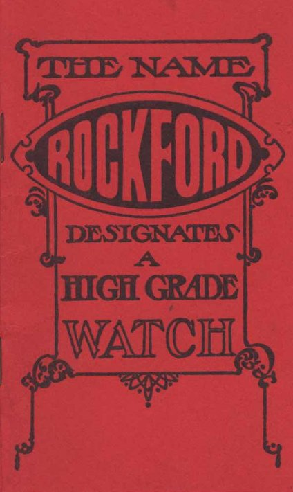 Rockford Watch Catalog c.1907 Cover Image