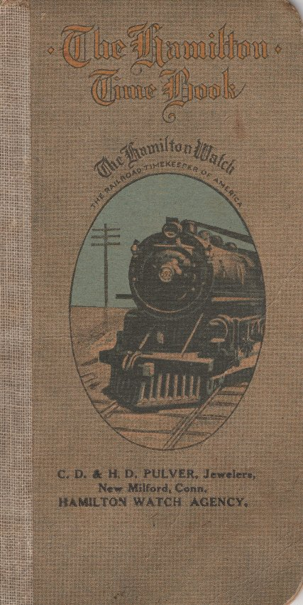 The Hamilton Time Book (1919) Cover Image
