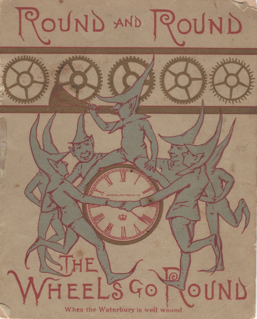 Round And Round: The Wheels Go Round (1887) Cover Image